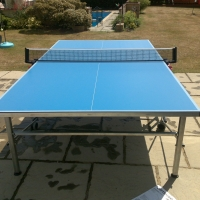Flat Pack Table Tennis Table