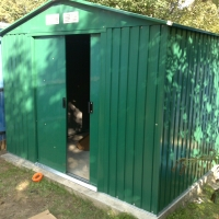 Flat Pack Garden Shed Assembly